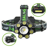 XANESBL-T88-B63350LMT6-7XPE6Modos de Zoom Telescópica Ciclismo Caça de Acampamento Ao Ar Livre LED Farol USB Interface de Carregamento