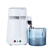 AC110V / 220V logement utiliser distillateur d'eau pure 4L eau distillée Machine Distillation purificateur filtre à eau en acier inoxydable avec manuel anglais