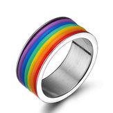 Cincin Jari Stainless Steel Fashion Unisex Perhiasan
