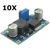 10pcs xl6009 ajustable intensificar elevación de tensión de alimentación del regulador convertidor módulo