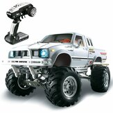 HG P407 1/10 2.4G 4WD RC Car do TOYATO Metal 4X4 Pickup Truck Rock Crawler RTR Toy