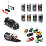 Mini Can Remote Radio Control Racing RC Model pojazdów samochodowych LED Light