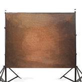 Studio-Hintergrund der reinen Farbfotografie-Hintergrund-Studio-7x5FT Brown