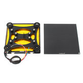 Creality 3D® 310*320*4mm Heated Bed + Back Support Slide Block Plate With Pulley + Ultrabase Glass Plate Platform For CR-10S PRO/CR-X 3D Printer Part