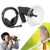 Parabolic Microphone Monocular X8 Ear Long Range Birds Listening Telescope 200M