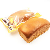 SquishyFun Squishy Jumbo Toastbrød 20cm Langsomt stigende Original Packaging Collection Gave Decor Toy