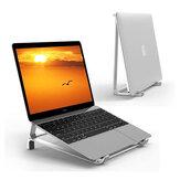 Aluminiumlegierung 2 in 1 Vertikaler Ständer Laptopständer Tablet-Halter Schreibtisch Handyständer Für 17
