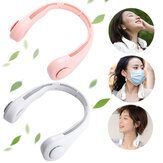 3-Modes Adjustable Portable Hanging Neck Sport USB Hanging Fan Lazy Neckband Air Cooler Conditioner For Outdoor Travel Sport