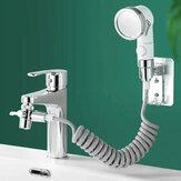 Badezimmer Waschbecken Waschbecken Wasserhahn Externer Duschkopf Zwei Modi Einstellbare Spray Haarwäsche Wasserhahn Spüler Verlängerungsset