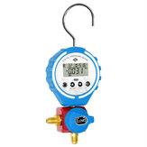 DBF-L-03L Manometer Kühlung Digitaler Verteilertester Vakuumdruckmesser HVAC-Temperaturtester Freon Manometer