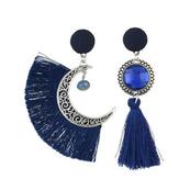 Orecchini pendenti con cristalli di Boemia. Orecchini pendenti da donna