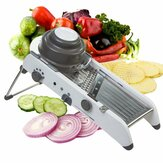 Mandoline Ajustable Multifuncional de Acero Inoxidable Cutter Cutter Julienne Food Slicer