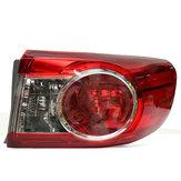 トヨタカローラ2011-2013 TO2804111のための車の右側の赤い後部尾ライトブレーキランプ