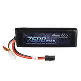 Gens ace 7.4V 7600mAh 25C 2S Lipo Battery With TRX Plug for RC Car