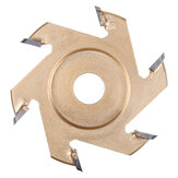 75/85/90 / 100mm Ahşap Oyma Disk Bıçak Diş Güç 16mm Açılı Taşlama Freze Parçalar