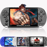 X9 PLUS 16GB 10000+ Games 5.1 inch HD Screen 128-Bit Retro Handheld Game Console Game Player Support GBA NES