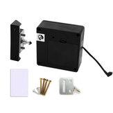 قفل باب بدون مفتاح مضاد للسرقة مخفي غير مرئي RFID بطاقة أقفال خزانة خزانة الأدراج