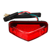 Universal DC 12V RED 12 LED Motorcycle ATV Dirt Bike Brake Stop Running Tail Light
