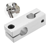 Machifit Cross Connector Fixing Block Vertical Retaining Clip Optical Axis Holder for Linear Rail CNC Parts