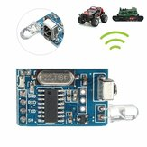 DIY 5V Wireless IR Inframerah Remote Decoder Encoding Modul Penerima Pemancar