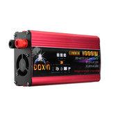 DOXIN® Spannungswandler 2000 Watt Spitze Geändert Sinuswandler DC 12 V / 24 V Zu AC 220 V USB Stecker