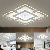 110-220V 15W Đèn trần LED hiện đại Acrylic Tròn Phòng khách Phòng khách Đèn trang trí phòng ngủ