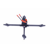 Fonster Kpro200 5 Inch 200mm Wheelbase 5mm Arm Carbon Fiber X-type FPV Racing Frame Kit for RC Drone 20*20mm/30.5*30.5mm