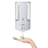 500mL Automatic Sensor Hand-Free Soap Dispenser Shampoo Bathroom Wall Mounted Liquid Dispenser