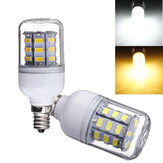 E12 3.5W 5730 SMD 30LED Corn Bulb 360° Pure White Warm White Indoor Lighting AC110V