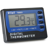 VICI TM803 Large LCD Display Fridge Refrigerator Freezer Thermometer -50~70℃ Digital Alarm Temperature Meter ℃/℉