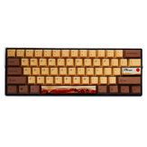 MechZone 108/130 Chaves Desert Journey Keycap Set OEM Profile PBT Five-sided Subliamtion Keycaps para 61/64/68/84/87/96/98/104/108 Teclas Mecânico