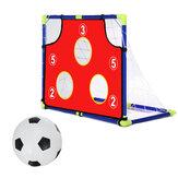 Kids Soccer Goal Mesh Target Play Football Sport Net with Ball Children Exercise Gift