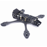 Fonsterfpv StrechX 223/258/296mm Wheelbase 5/6/7 Inch FPV Freestyle Frame Kit Compatibled with DJI Air Unit/VISTA Air Unit for RC Racing Drone