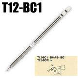 T12-BC1 Hakko Şekil 1BC PCB Onarım Ürünü için Lehimleme Lehimlemek Demir İpucu Değiştirin
