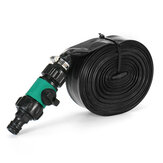 12M/15M Garden Misting Cooling System Cooler Water Pipe Patio Mist Spray Hose Kit