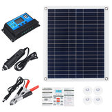 30W Solar Panel Semi-flexible Portable Car And Ship Emergency Charging Board