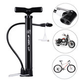 WHEEL UP Portable Bike Bicycle Cycling Air Pump Hand Ball Inflator High Pressure