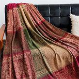 190*150CMPamukBattaniye Kanepe Yatak Dekor Atmak Battaniye Kapak Soft Halı Halı