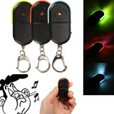 Portable Size Old People Anti-Lost Device Alarm Key Finder Wireless Useful Whistle Sound LED Light Locator Finder Keychain