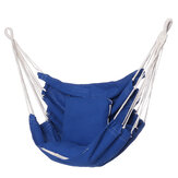 Camping Hammock Chair Swing Seat Indoor Outdoor Folding Hanging Chair with Ropes Pillow