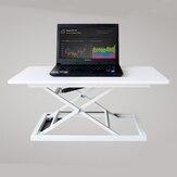 COMNENIR T10 Höhenverstellbar Sitzenständer Schreibtisch Einfacher Moderner Schreibtisch Riser Faltbarer Laptop Schreibtisch Notebookständer