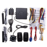 Auto PKE Keyless Entry-systeem Motor Push Start-knop Trilalarm Remote Start Door Detect