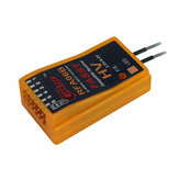 Cooltech RFA06B 6CH 2.4G FASST Compatible Receiver for Futaba 6EX 7C TM-7 TM-8 T8FGT10C