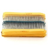 2425Pcs 1% 1/8W 0.125W Metal Film Resistor 97 Value Assortment Kit 1R~1M Range