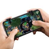 Baseus 1 par telefone móvel Gamepad controlador de jogo gatilho joystick para iphone XS MAX xr oneplus 6