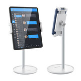 BlitzWolf® BW-HT1 360 Rotation Angle Height Adjustable  Aluminum Alloy Phone Holder Desktop Stand for 4-12.9 Inch Phones Tablets