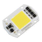 High Power 50W White / Warm White LED COB Light Chip for DIY Flood Spotlight AC220V