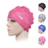 Waterproof Silicone Water Drop Earmuffs Swimming Cap