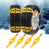 Winter Outdoor Nood Anti-slip Sneeuw Band Kettingen TPU Autoband Kettingsgordel