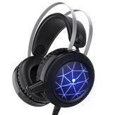 N1ゲーミングヘッドセットヘッドフォンオーバーコンピューター用耳ステレオヘッドフォン